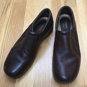 Easy Spirit Comfort Leather Slip-ons